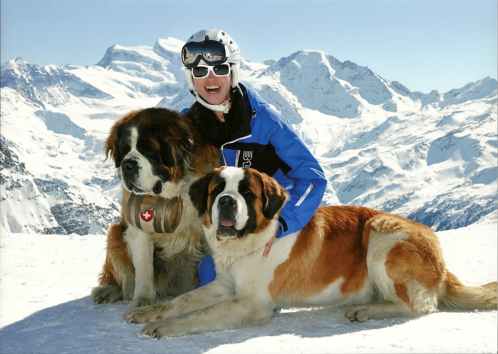 Ski instructor Verbier Martina